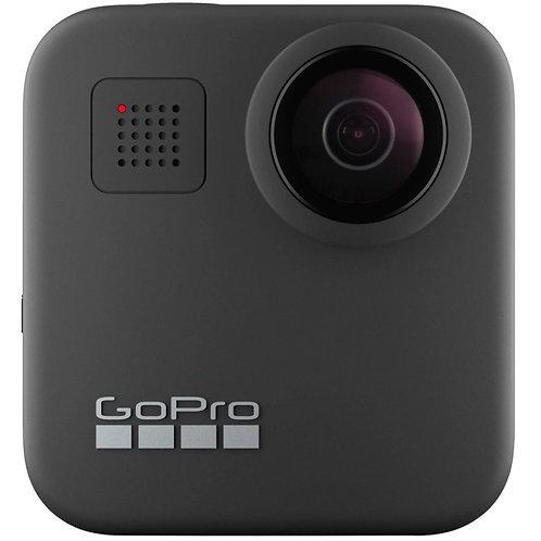 Cámara Deportiva GoPro MAX 360, 16.6MP, 4K Ultra HD, MicroSD, Negro