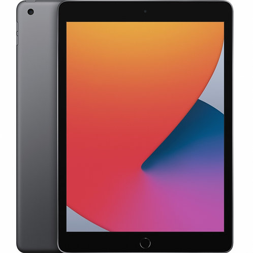"Apple iPad 8 Retina 10.2"", 32GB, Wi-Fi, Space Gray 8.ª Generación"