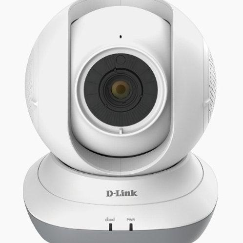 D-Link Cámara EyeOn Baby HD 360 para Tablet/Smartphone, Inálambrico, Blanco