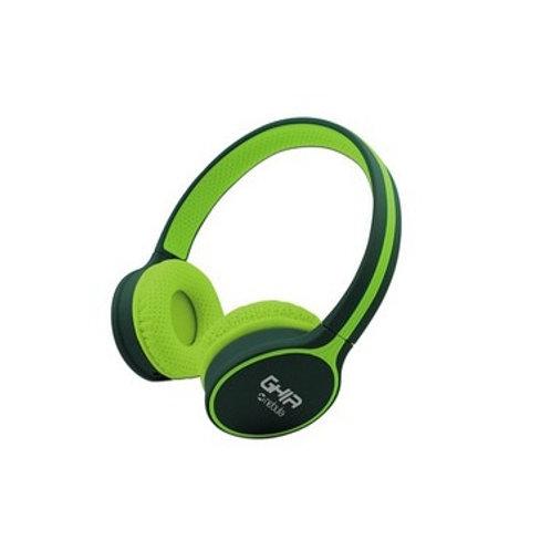 Ghia Audífonos SPK-1420, Bluetooth, Inalámbrico, Verde