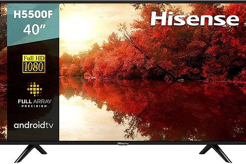 """Hisense 40H5500F Android TV Smart TV 40"""", 1080p, Wi-Fi, 2019, Color Neg"""