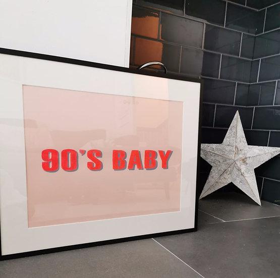 'Decade Baby' Print