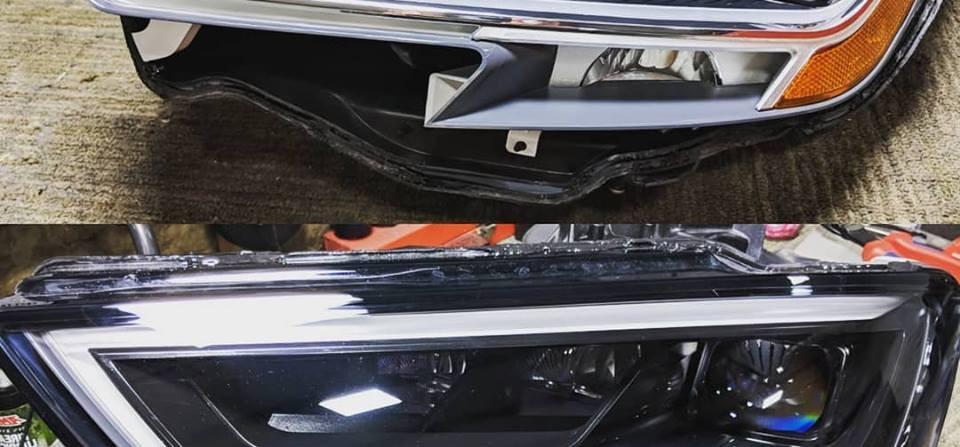 Audi RS3 Custom Headlights