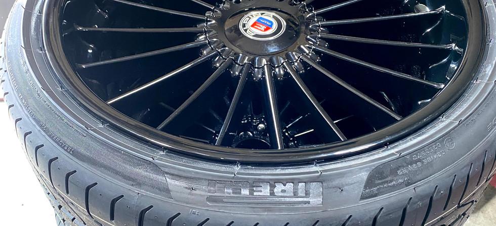 Re-Finished & Restored ALPINA B7 Wheels