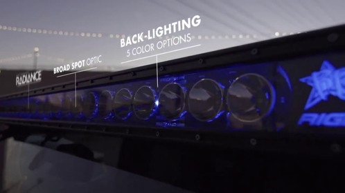 Rigid industries radiance backlit light bar 20 inch lighting the all new rigid industries radiance is the perfect solution for those who want rigids legendary quality at a level everyone can attain aloadofball Image collections