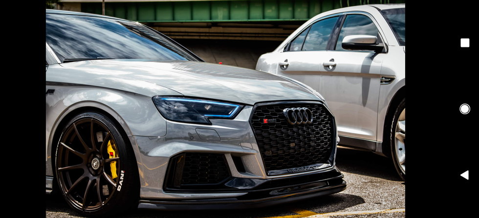 Audi RS3 Side Shot