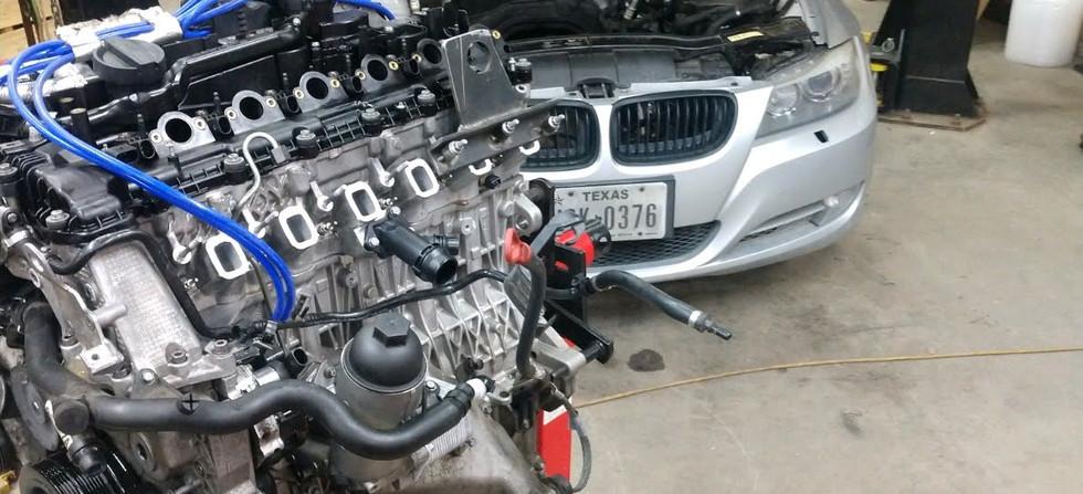 BMW E90 335D M57
