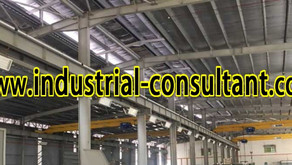 Senai Factory For Rent with Overhead Crane