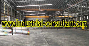 Johor Bahru Factory For Rent with 16ton Overhead Crane