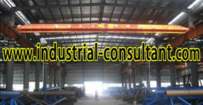 Senai Factory For Rent with 6 Overhead Crane