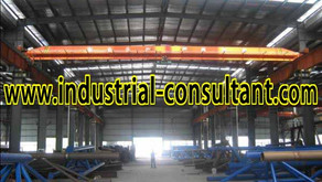 Senai Factory For Rent with 6 Overhead Crane