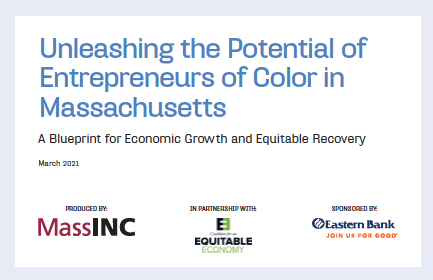New MassINC report lays out strategy for empowering entrepreneurs of color post-pandemic