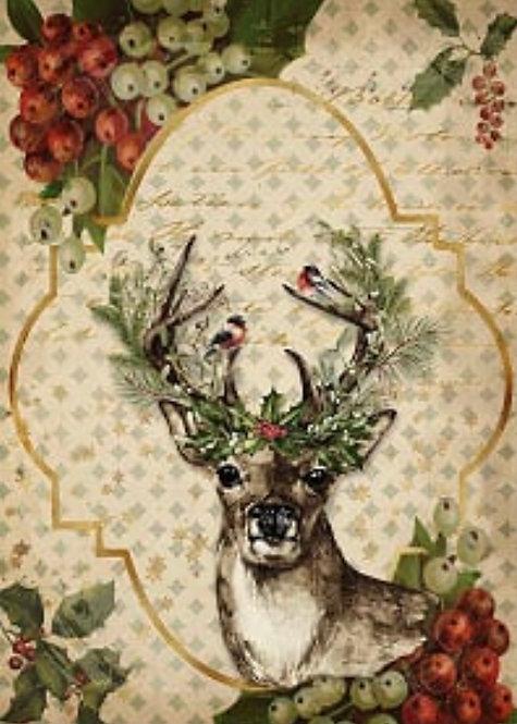 Christmas Reindeer  A4