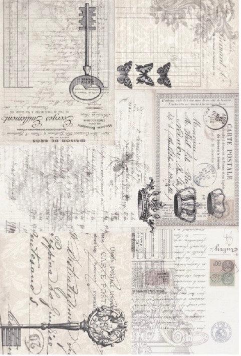 Ephemera Collage