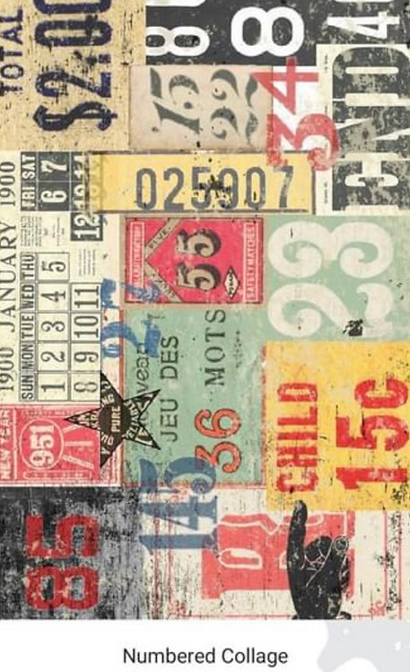 Numbered Collage