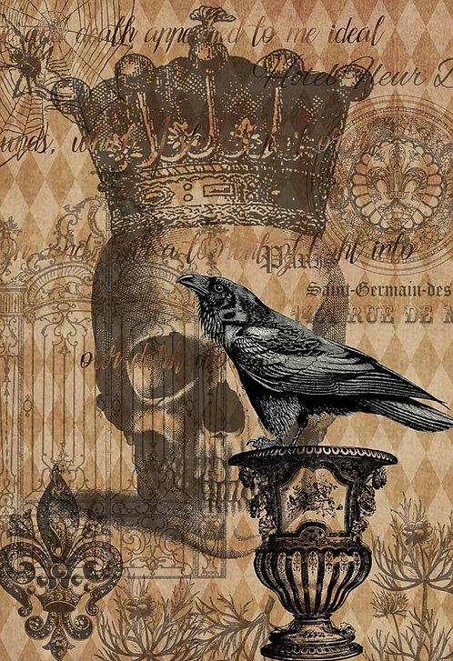 Raven Skull and Gate