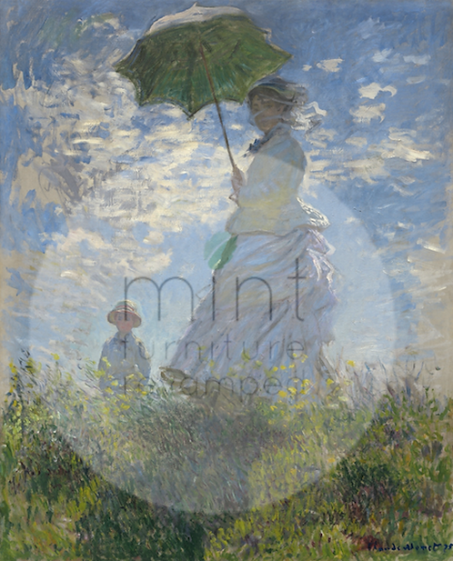 Lady with Parasol A-3  11x17