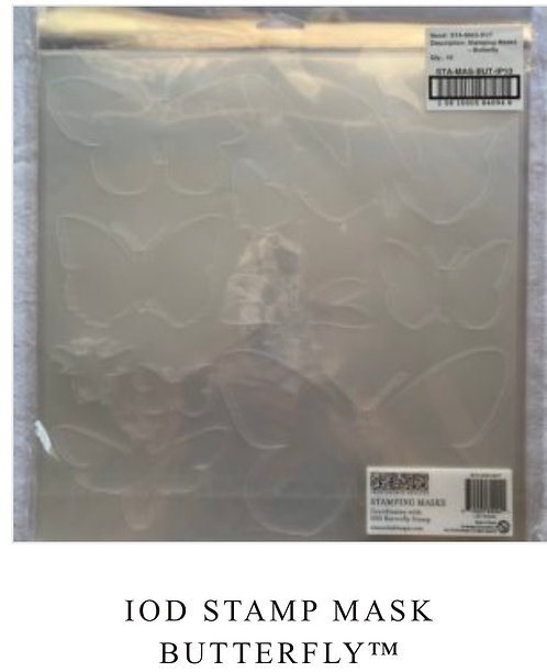 IOD Stamp Mask Butterfly