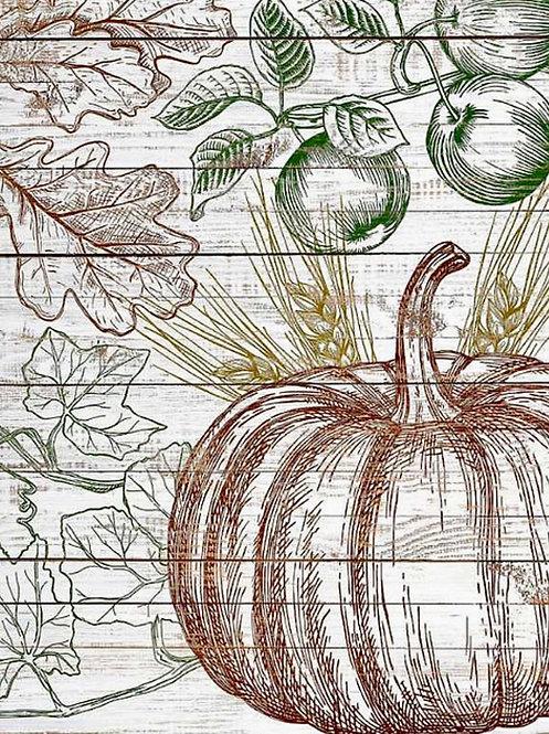 Fruitful Harvest Stamp (2- Sheets) IOD