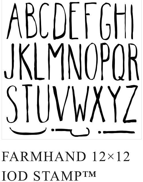 Farmhand Stamp
