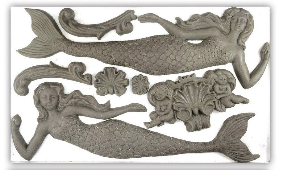 Sea Sisters Decor Moulds
