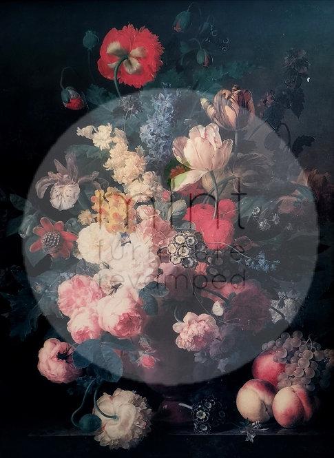 Renaissance Flowers A-3 11x17