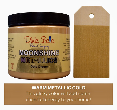 Moonshine Metallics  Gold Digger 16oz