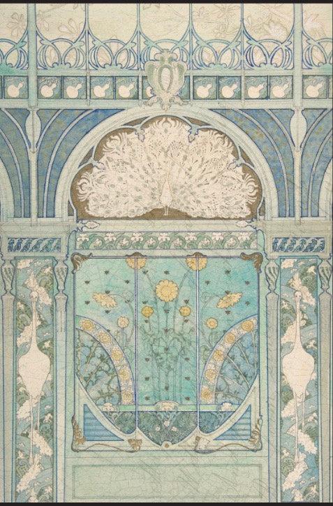 Art Nouveau Project Blocks
