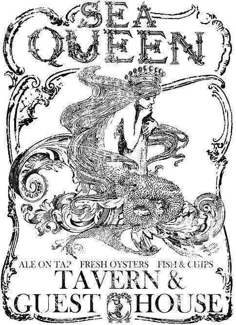 Sea Queen Image Transfer (Small)