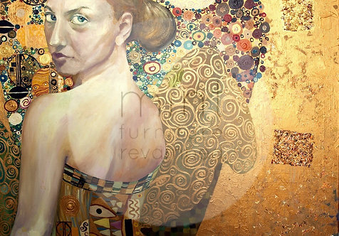 Lady in Gold A-1  24x33
