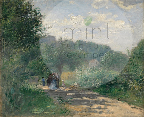 A Road to Louveciennes A-3  11x17