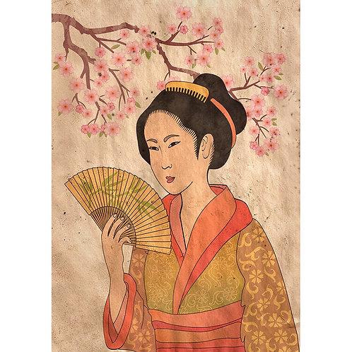 Geisha  A-3  11x17