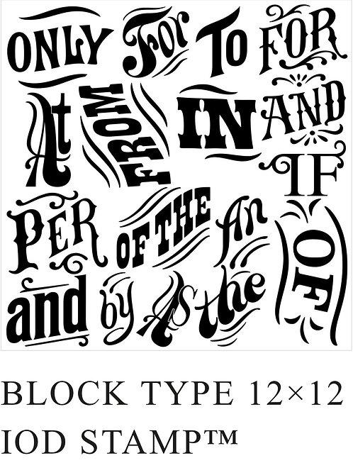 Block Print Stamp