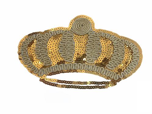 Patch Couronne dorée
