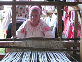 Slovak traditional weaving