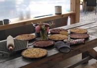Dutch vlaai pastry made in slovakia