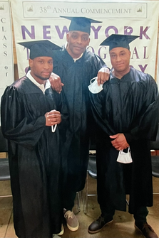 L to R: Jamel Brown, Alex Dockery, Patrick Stephens