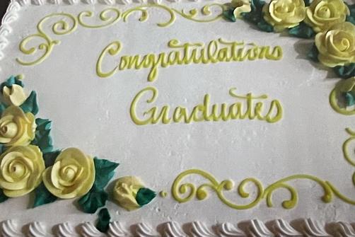Cake: Congratulations Graduates!