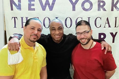 L to R: Alfredo Rivera, Patrick Stephens, Anthony Perez