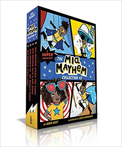 The Mia Mayhem Collection #2 (5 Book Boxset)