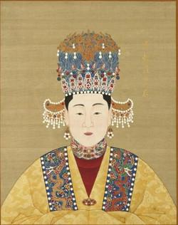 China's_Ming_Dynasty_Empress_Xiaoyizhuang Longqing Emperor