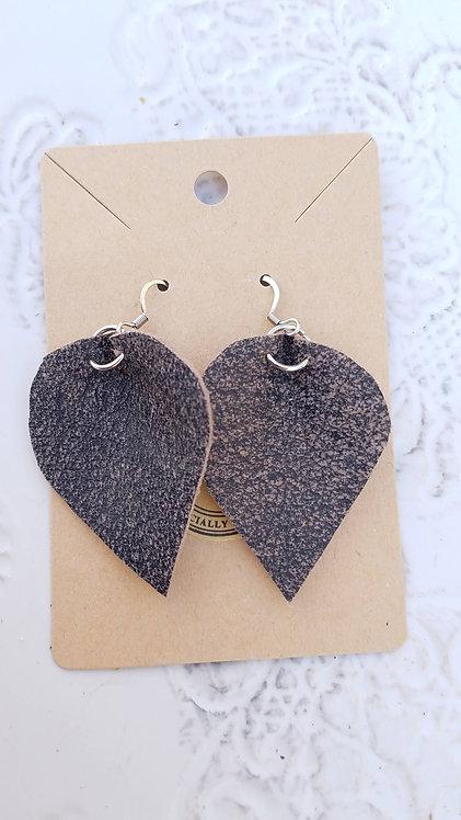 Heathered Teardrop Earrings