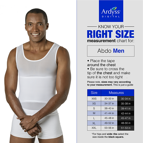 Ardyss Twin Pack of Mens Abdo Vest