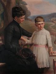 2017.19 Oil portrait of Elizabeth Thomps