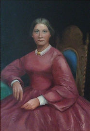 Mary Irvin Thompson portrait by Jean Gri