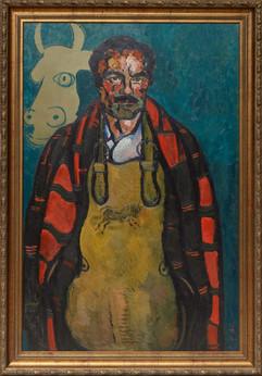 Zurab-Tsereteli-The-Old-Torero-1987-Oil-