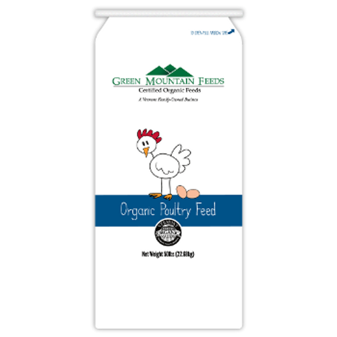 Green Mountain Organic 21% Chick Starter Mash 50LB