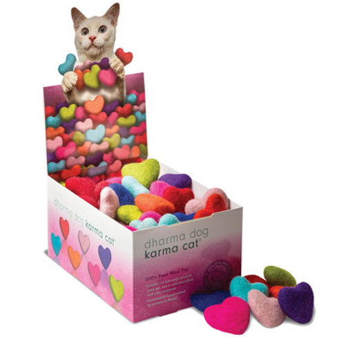 Wool Karma Heart Cat Toy