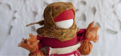 Bring a handmade doll inspired by your culture