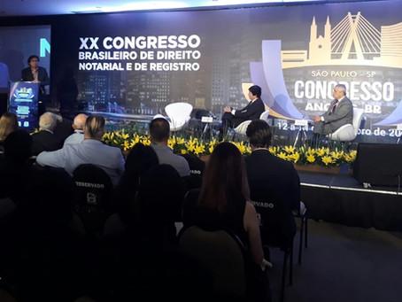 Duplicatas Eletrônicas e sua repercussão econômica em destaque no Congresso da Anoreg/BR em SP